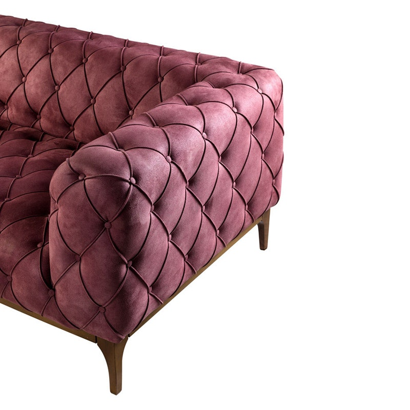 Chesterfield Sofa Nr. 10 als 4-Sitzer