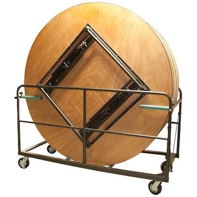 Tischwagen für runde Tische