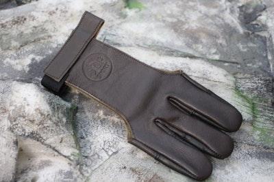 Handschuh braun