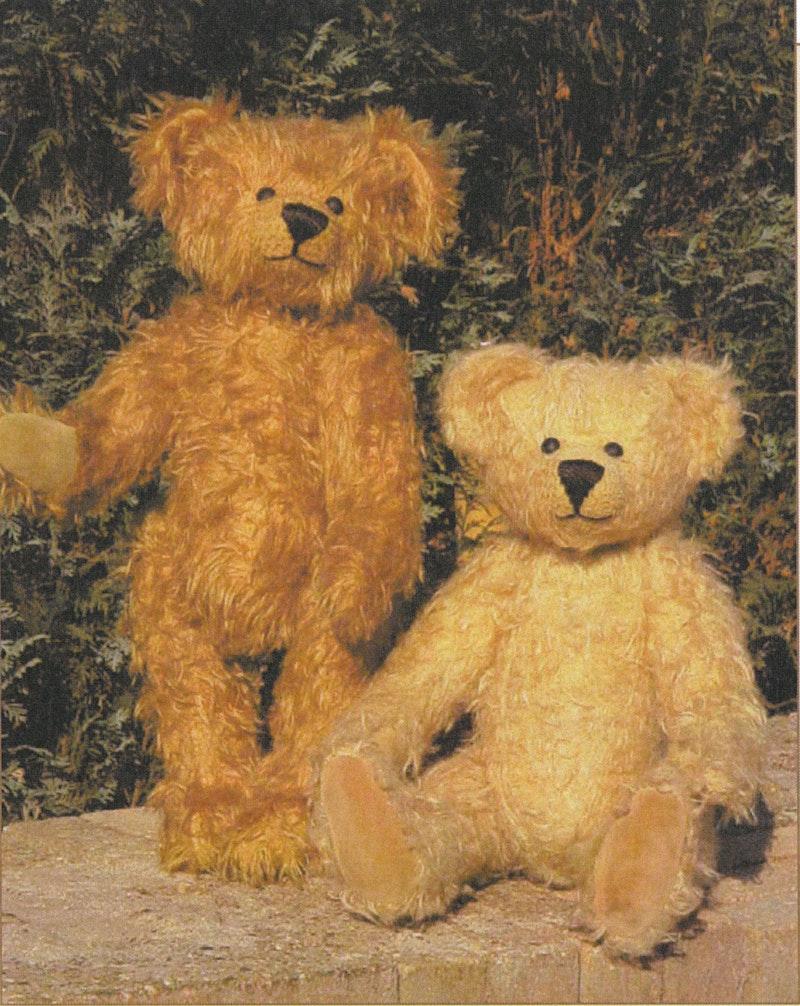 Schnittmuster Teddybär Teun