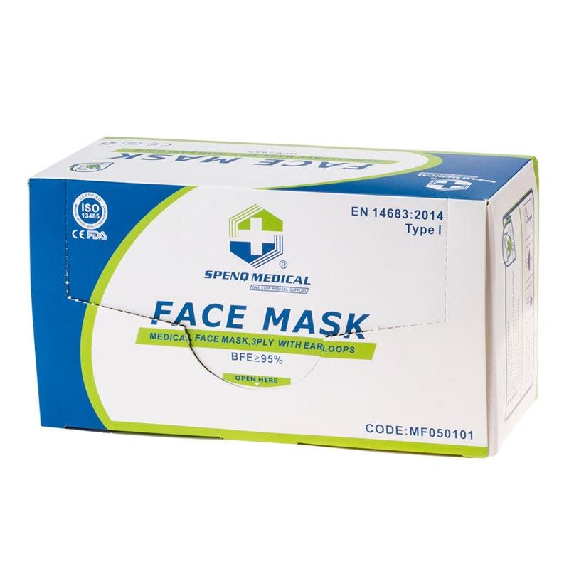Chirurgische Gesichtsmaske mit Ohrschlaufe