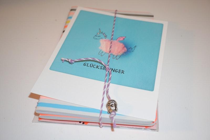 Notizbuch Set  A6 + Sticky Notes verschiedene Ausführungen