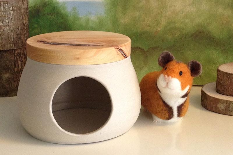 Hamsterhaus Natur pur (klein)