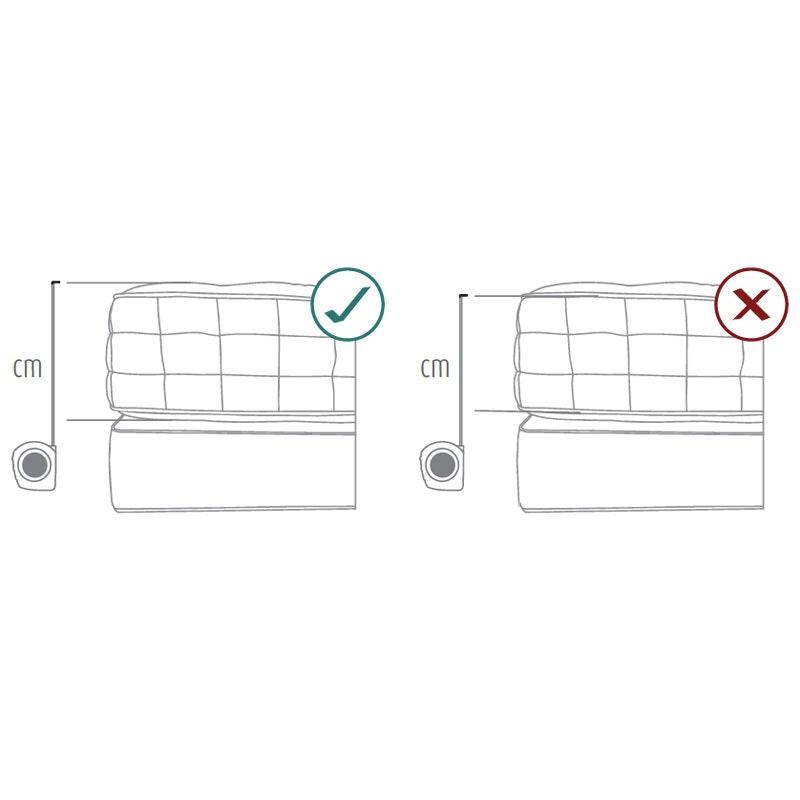 VISCOSAN 19 7-Zonen Kaltschaummatratze Memory-Effekt (19cm)