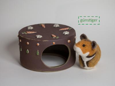 Hamsterversteck Karottenkuchen