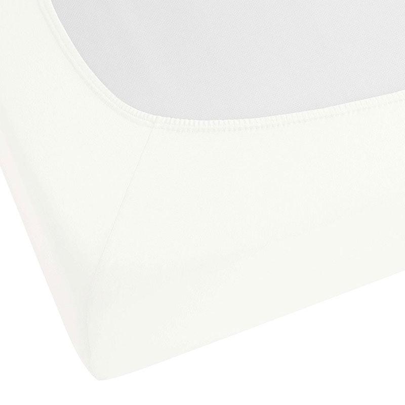 MARBELLA 8 cm Steg Jersey-Elastic-Spannbetttuch für Toppermatratzen