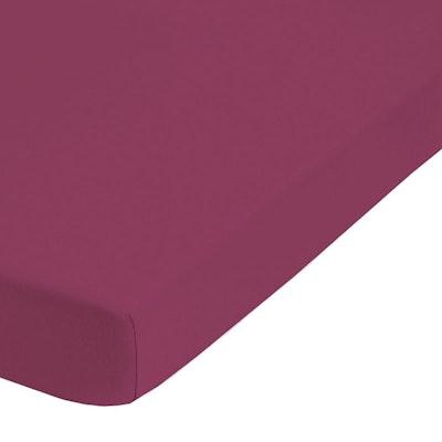 Jersey-Elastic-Boxspring-Spannbetttuch MARBELLA 35cm Steg
