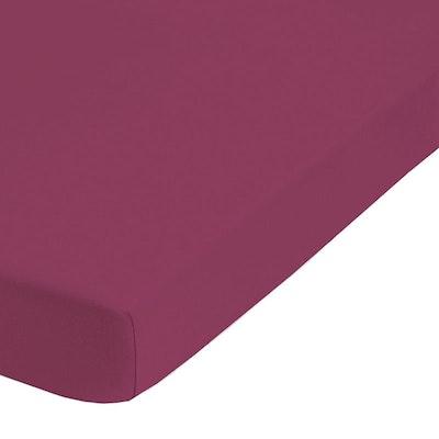 Jersey-Elastic-Spannbetttuch CORDOBA 25 cm Steg