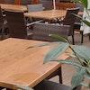 Terrassenstuhl Outdoorstuhl LUNA-SCANDIC