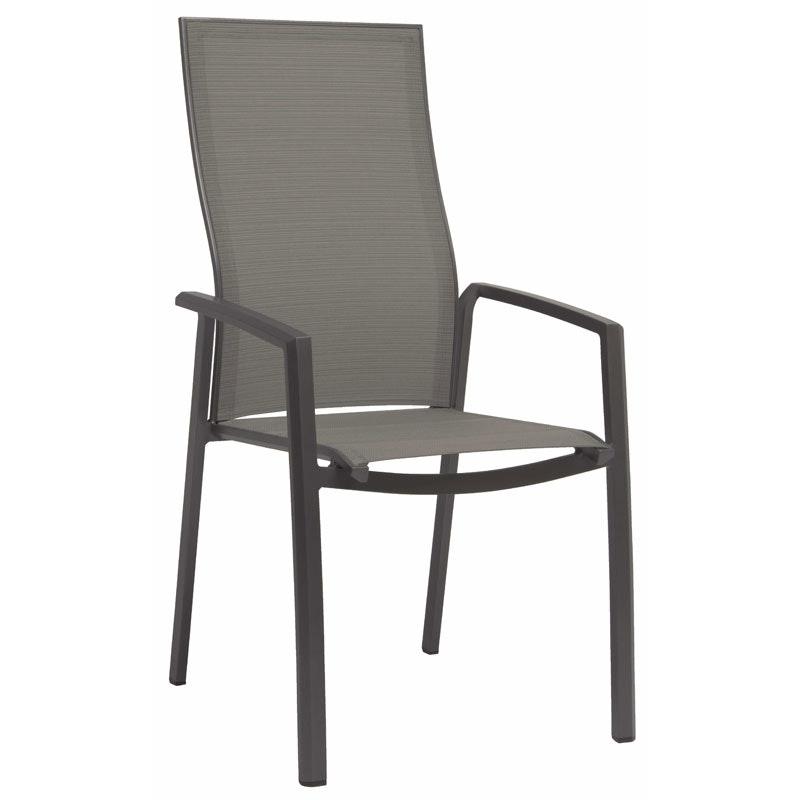 KARI Outdoor-Stapelsessel mit hoher Rückenlehne (Stern Möbel)