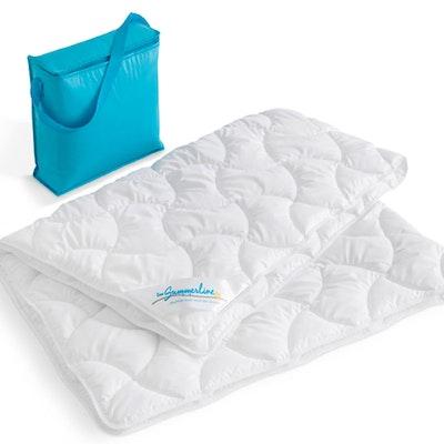 Summerline Sommerdecke Thinsulate™ Leichtsteppbett inkl. Kühltasche