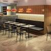 Bugholz Restaurantstuhl Modell 811 von TON