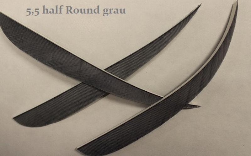 5,5 Zoll (LW) Feder half Round