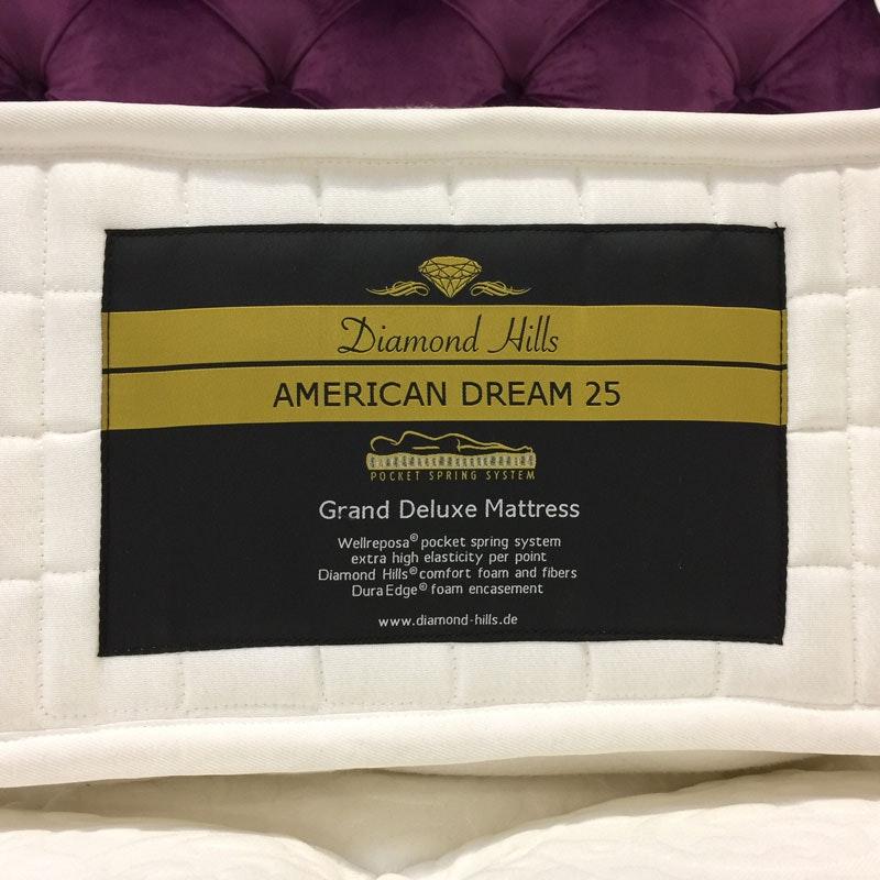 AMERICAN DREAM Grand Deluxe Taschenfederkernmatratze
