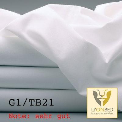 Qualitätsbettlaken, Hotel G1/TB21 - 100% Baumwolle Note: sehr gut