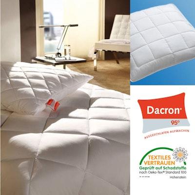 Allergikerkissen DACRON mit Polyesterkugeln 95°-waschbar