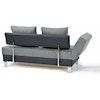 CLIO Schlafsofa /Schlafcouch / Relaxliege mit Stauraum