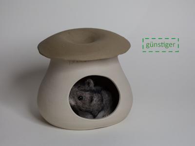 Hamsterversteck Kräuterseitling klein