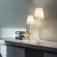 Nachttischlampe /Schreibtischlampe LYNDA (ohne Fuß, fixiert)