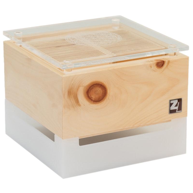 ZirbenLüfter® CUBE mini cristall