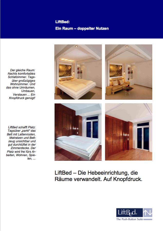 Liftbed Broschüre