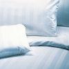 DANZIG 27mm Streifensatin Damast-Bettwäsche aus Mischgewebe, Garnitur