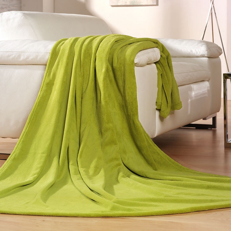 COLORADO Tagesdecke, kuschelige Wohndecke 100x150 cm