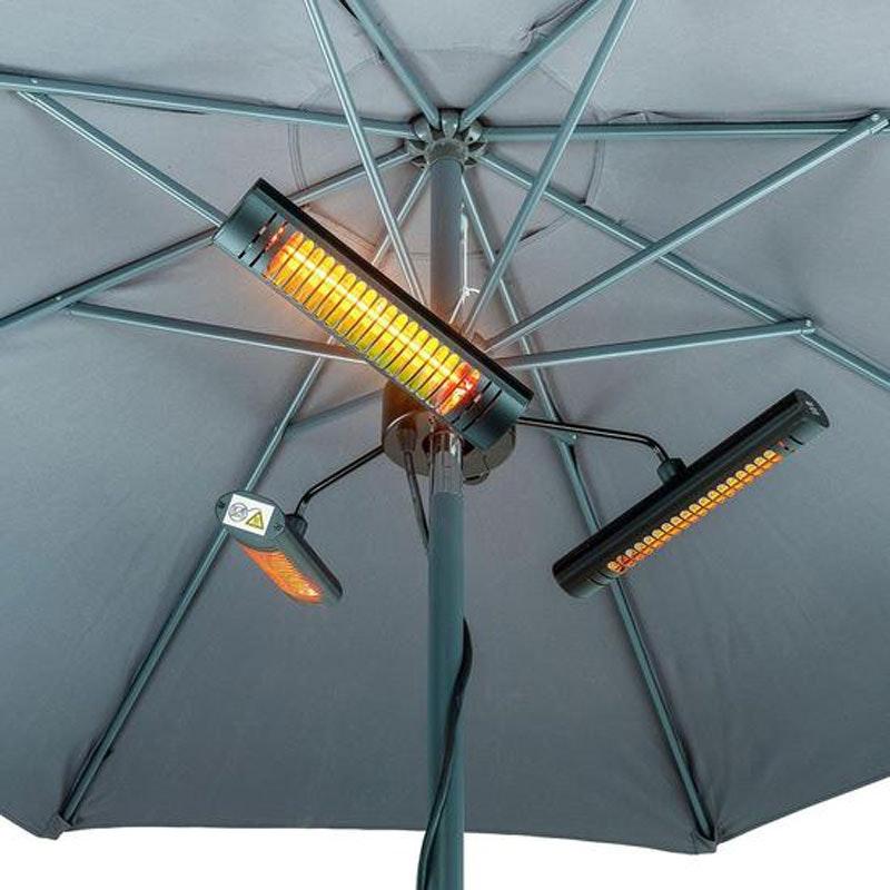 HELIOS MASTER infrarot Heizstrahler für Gastro-Schirme
