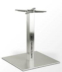 Tischgestell INOX für Tischplatte bis 130 cm rund