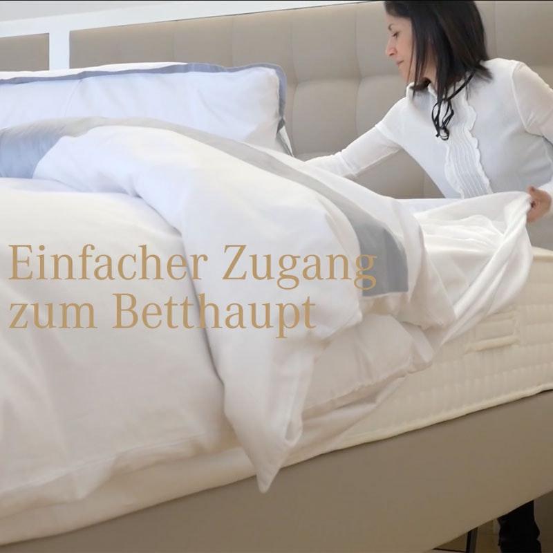 Hebe-Bett, Hub-Bett Mechanismus