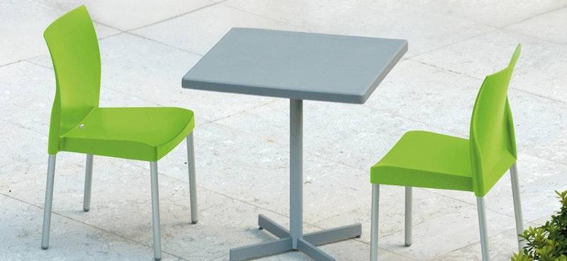 Outdoor Stapelstuhl und Stapelsessel ICE von PEDRALI
