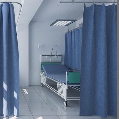Trennvorhänge für Kliniken und Pflegeeinrichtungen