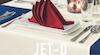Jet-D Uni in Baumwoll-Polyester-Mischung von Pichler