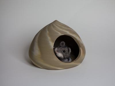 Hamsterversteck marmoriert 3