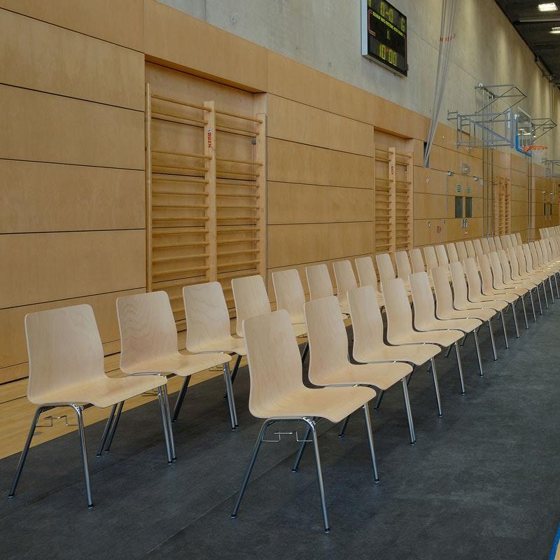 Holzschalenstuhl Multipla ST1