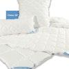 CLEAN95 Ganzjahres-Faserdecke mit Baumwollhülle
