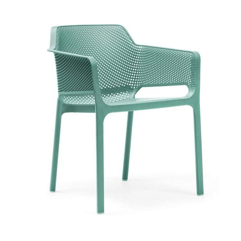 NET stapelbarer Armlehnstuhl für den Outdoorbereich