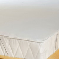 MOLTON Sandwich Matratzenschutz Fix-Spannauflage, wasserdicht