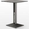 Tischgestell QUADRA für Tischplatten bis 90x90 cm