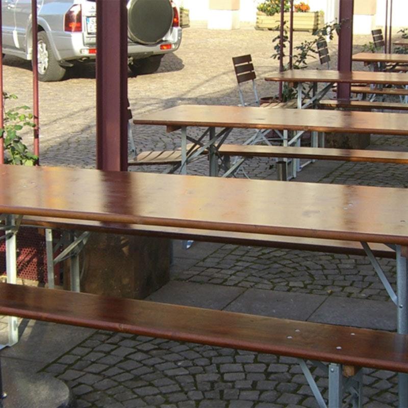 OKTOBERFEST Bierbank-Set Festzeltmöbel