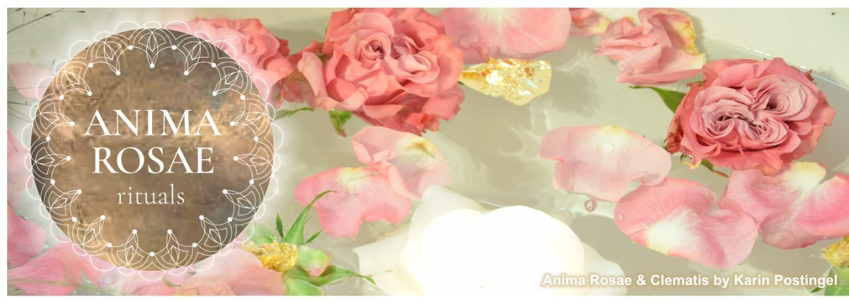 Anima Rosae & Clematis by Karin Postingel
