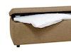 Bettbank, Schlafzimmerbank / -hocker mit Stauraum
