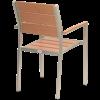 NIMES Stapelsessel für die Terrasse / Outdoor