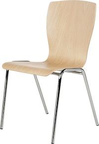 Holzschalenstuhl Multipla ST29