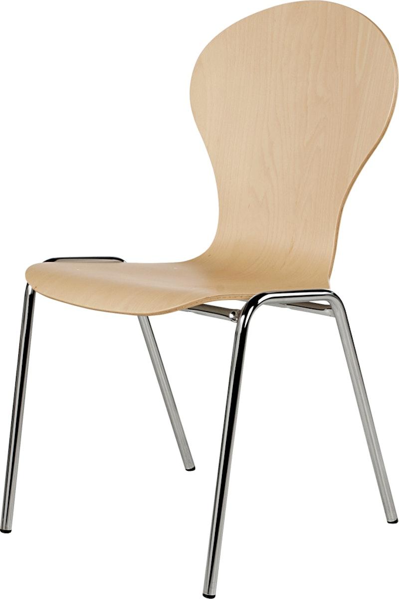 Holzschalenstuhl Multipla ST28