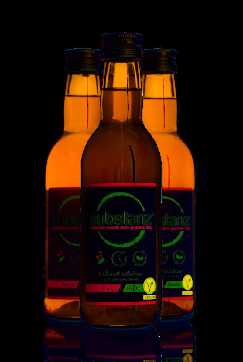 6 Flaschen substanz