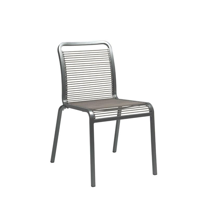 OSKAR ROPE Outdoor-Stapel-Stuhl (Stern Möbel)