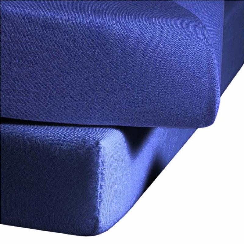 ALICANTE Jersey-Stretch-Spannbetttuch farbig