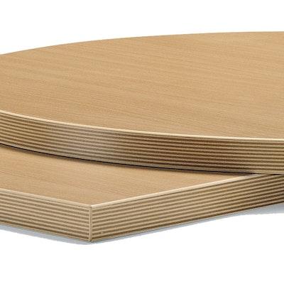 25mm Laminatplatte / Melaminharzplatte mit ABS-Kante