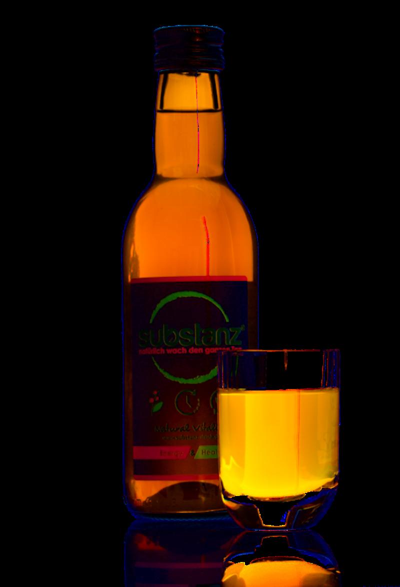 2 Flaschen substanz